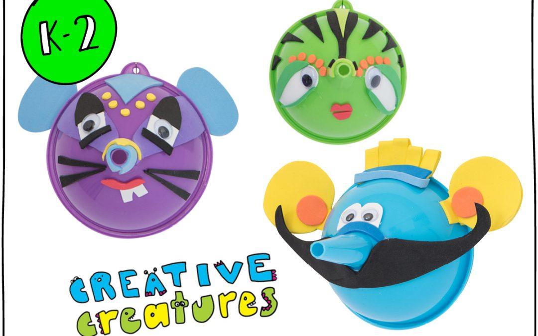 Creative Creatures (K-2)
