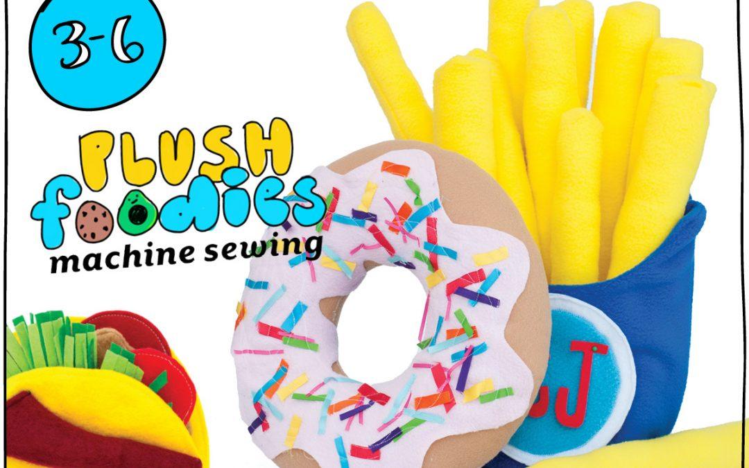 Plush Foodies Sewing
